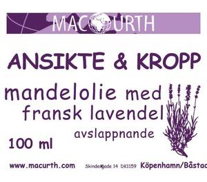 mandelolja Fransk lavendel
