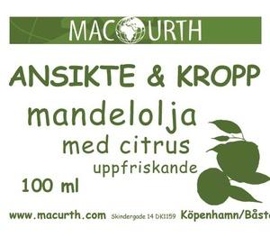 mandelolja citrus